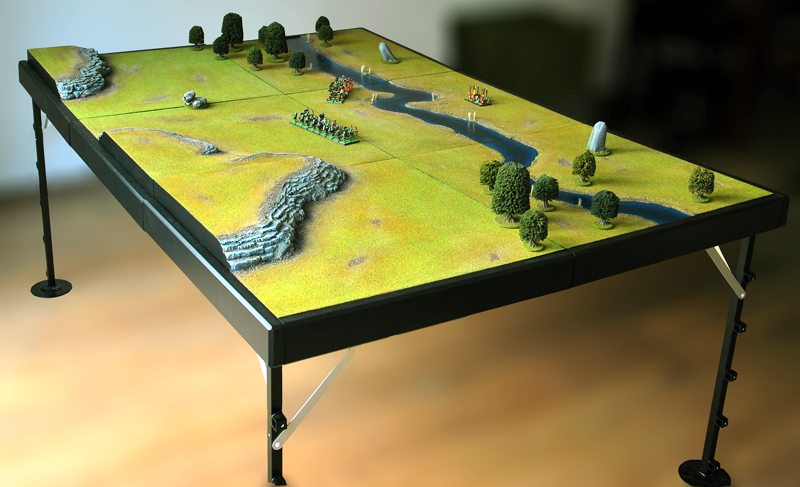 Realms of miniatures modular gaming table part 15 for Modular table design