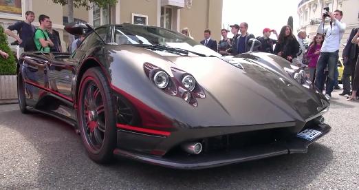 Pagani Zonda F Clubsport Roadster à Monaco