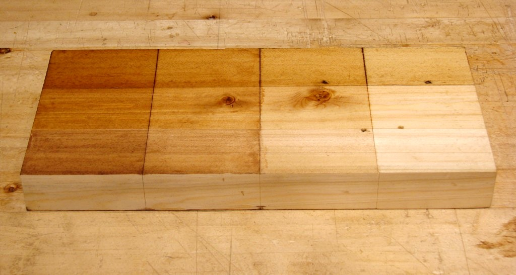 More On Staining Wood With Tea