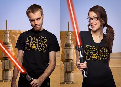 "Johnny Cupcakes Star Wars T-Shirt ""Bake More"""