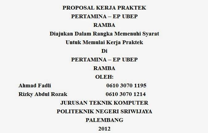 Contoh Proposal Magang Terbaru 2019 Kumpulan Contoh Surat Dan Proposal