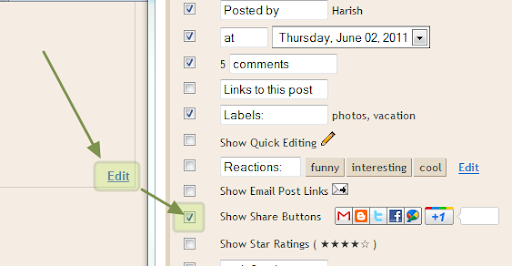 How to Add Official Google +1 Button to Blogger / Blogspot