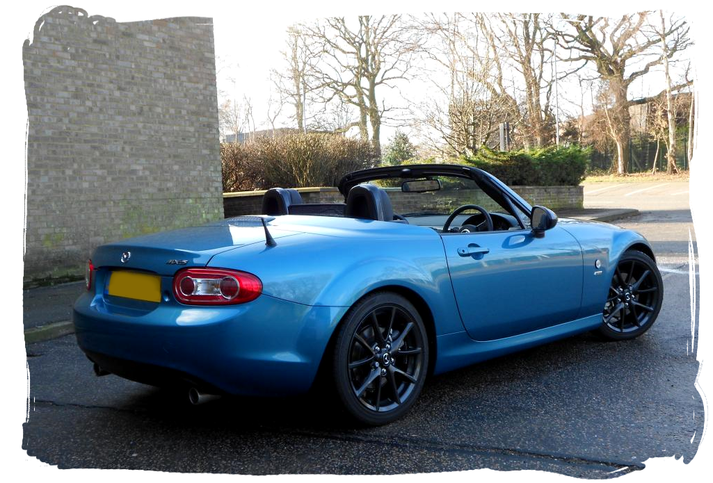 Roadster.Blog: Steve\'s Aquatic Blue NC3
