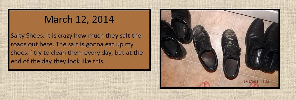 March 12, 2014 - Salty Shoes