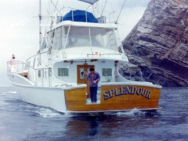 El barco Splendour
