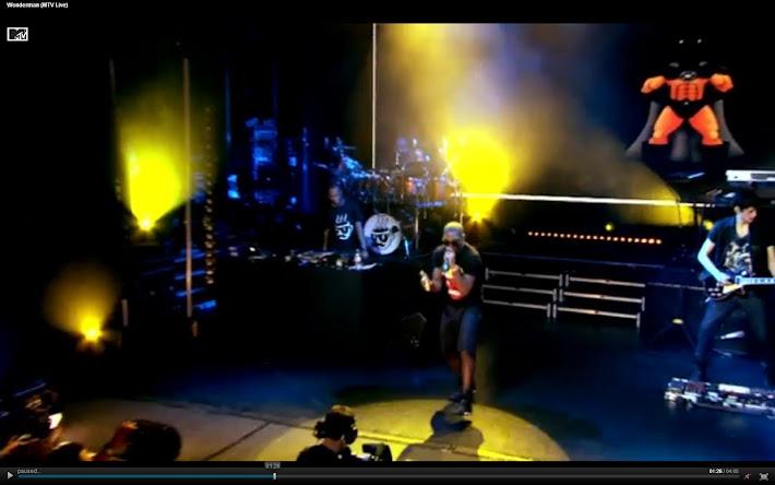 Screen Captures - Wonderman