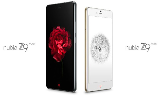 ZTE Nubia Z9 Max Elite and Z9 Mini Elite Mobiles