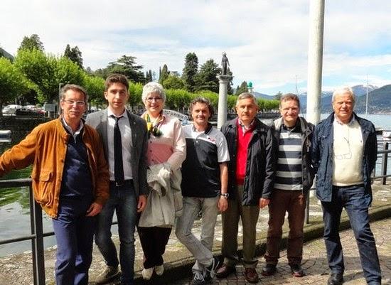 gli uomini candidati con Emma Caroti Porta