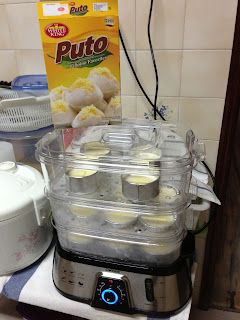 Puto 'Steamed Rice Cake' Recipe by Makoy