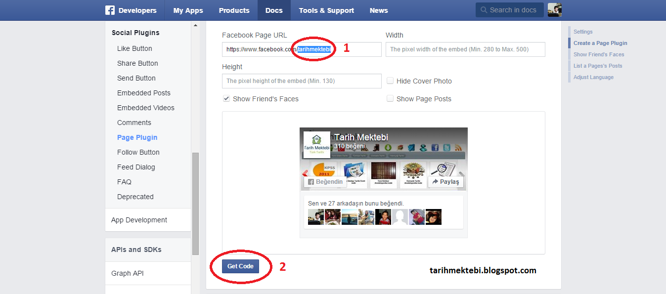 blogger-facebook-page-plugin