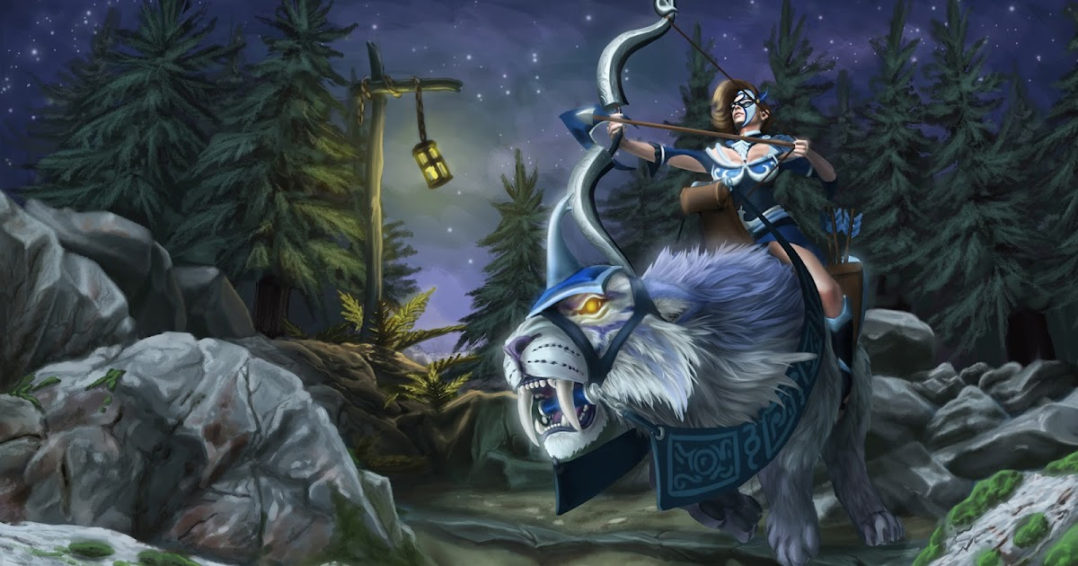 mirana dota 2 set 00 wallpaper hd