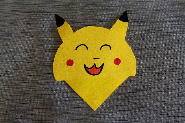 marque page Pikachu DIY back to school