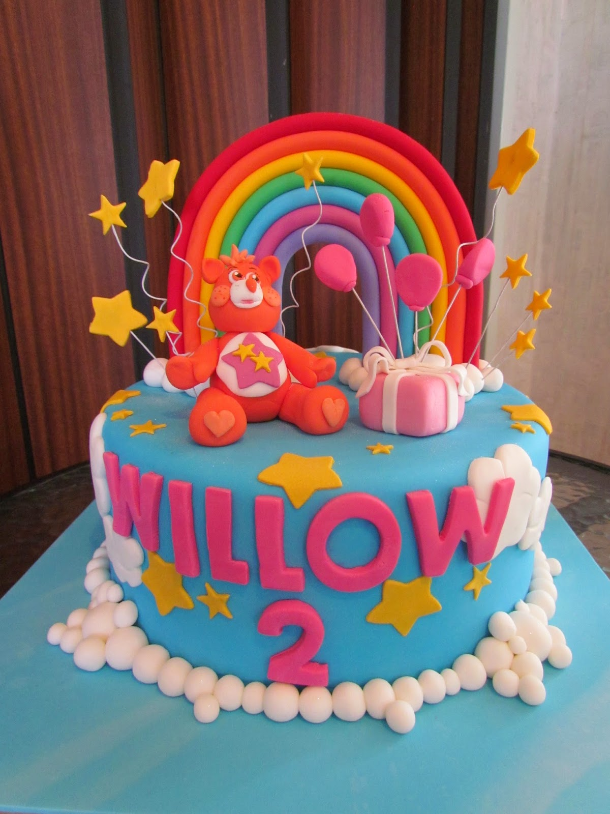 Pennys Parties Rainbows And Care Bears