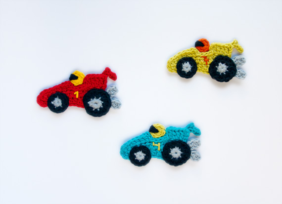 Amigurumi Race Car : Sew Can Do: Crochet The Adorable Way! Introducing: One ...