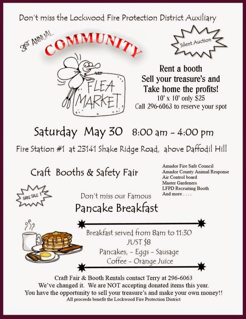 LFPD Community Flea Market - Sat May 30