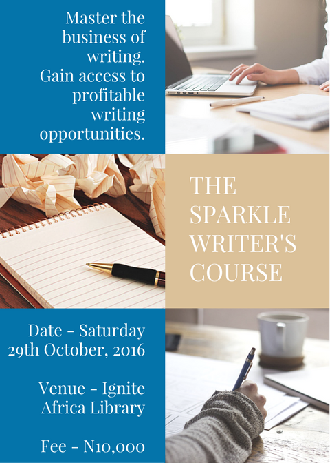 The Sparkle Writers Training