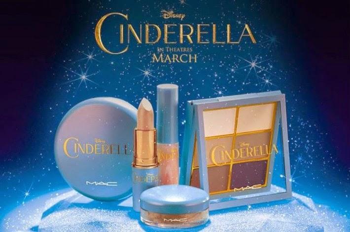 nova coleção da mac cinderella, filme cinderela