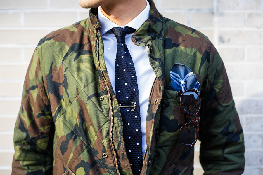 Levitate Style - J. Crew Camo Jacket, Gents Mode