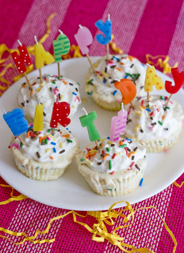 Ericas Sweet Tooth Funfetti Ice Cream Cupcakes
