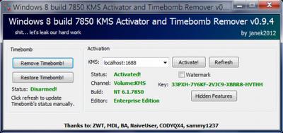 Ativador Windows 8