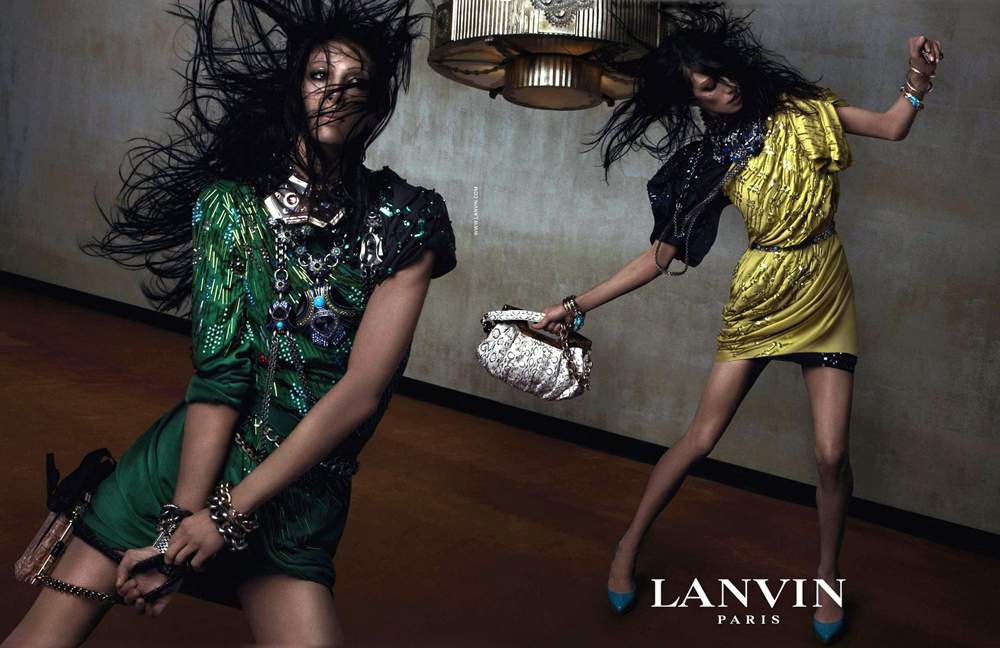 Lanvin Spring/Summer 2010 campaign (photography: Steven Meisel) via www.fashionedbylove.co.uk british fashion blog