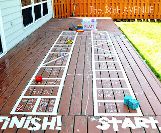 Outdoor Board Game by Design Dazzle