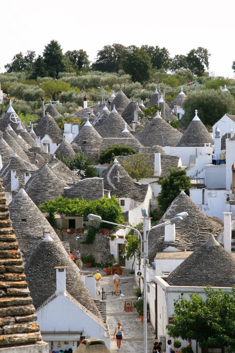 Trulli of Alberobello, Italy