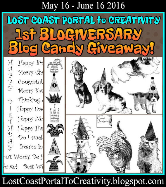 Blogiversary With Lost Coast Designs