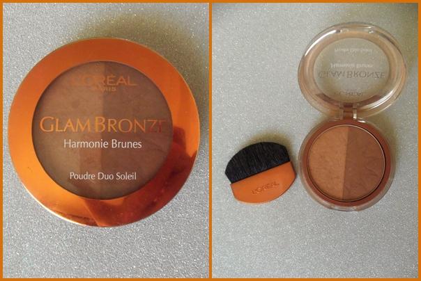 loreal glam bronze harmonie brunes powder duo