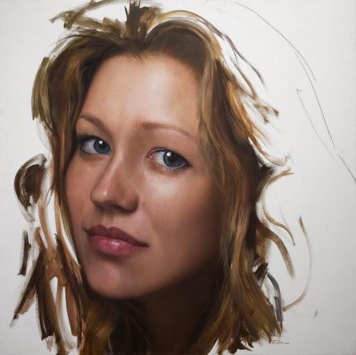 Javier Arizabalo pinturas hiper realistas retratos pessoas mãos