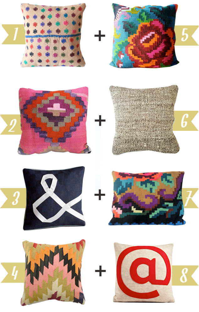 A Lovely Lark: Etsy Love: Pillow Pairs