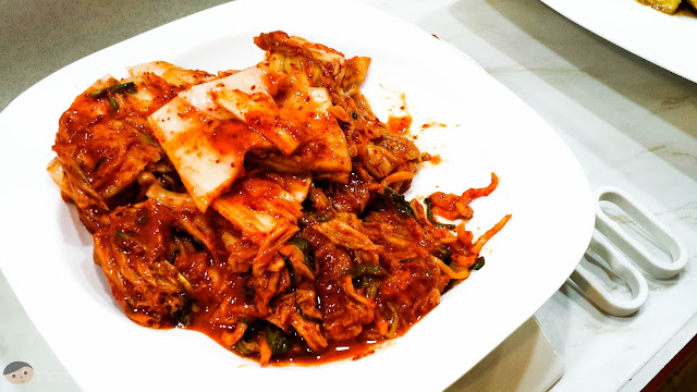 Kimchi of Matgalne Korean Restaurant