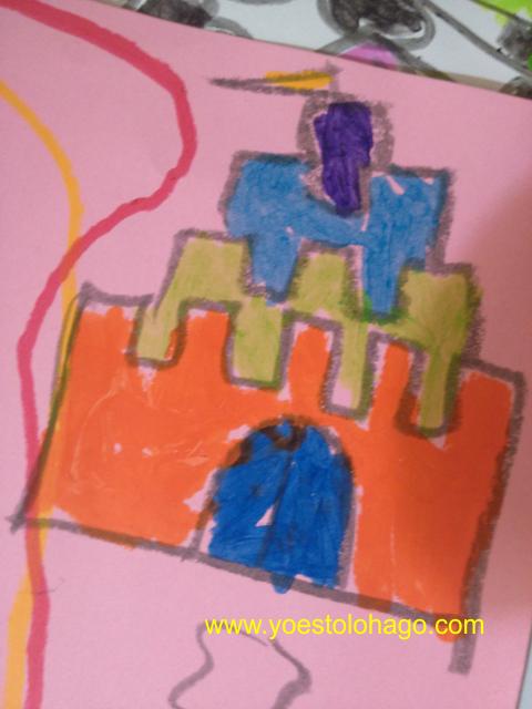 Dibujo hecho por niña con Play Color