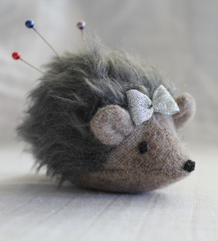 Makerland Make A Hedgehog Pincushion Tutorial