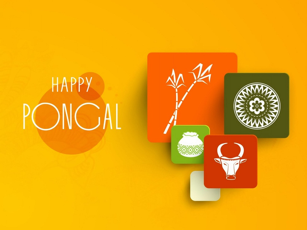 Best and Famous Pongal Wishes Greetings in Tamil and Hindi.In Pongal ...