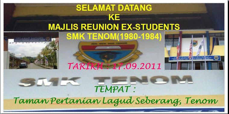 Banner Reunion SMK Tenom
