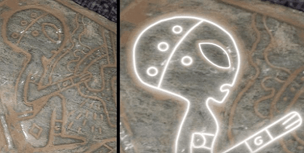 Εξωγήινος σε σπήλαιο στο Μεξικό: οι εικόνες που λένε μια άλλη εντελώς  ιστορία απο αυτη που διδάσκουν