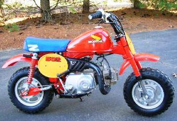 honda zr mini bike restoration introduction