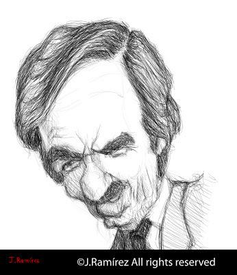 Jose María Aznar López humor caricature