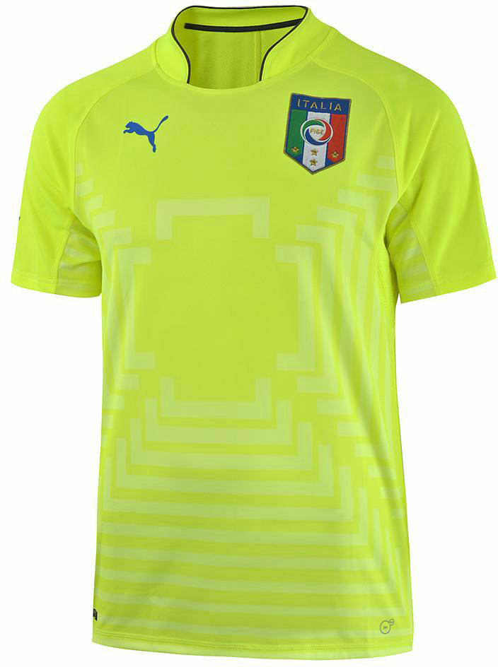 2016-2017 Italy Home Goalkeeper Shirt (Buffon 1) - Kids [74900611B ...