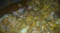 paella con cangrejos