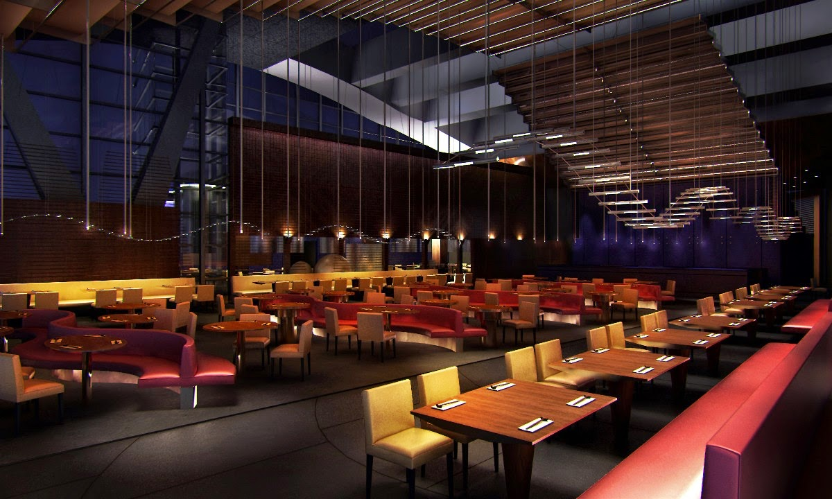 4 cool restaurant interiors home design hd wallpapers for Unique hotels nyc