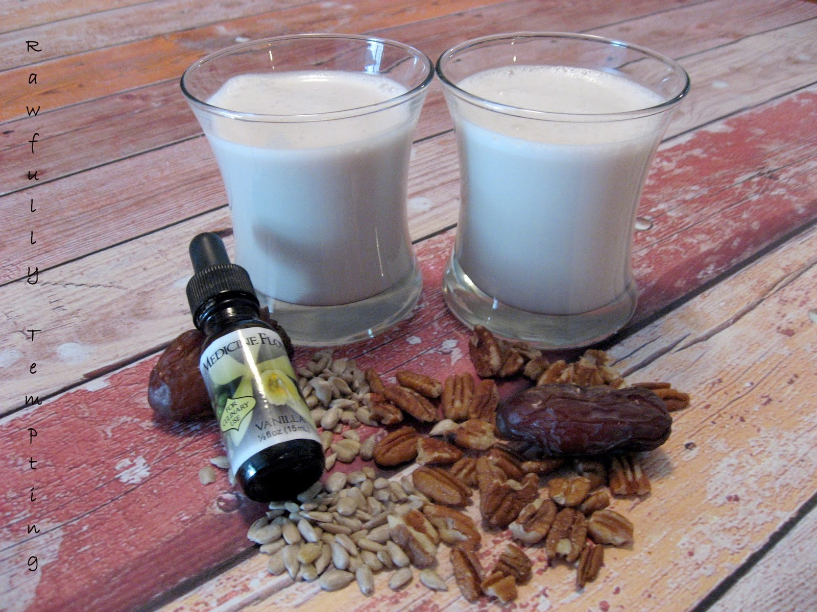 pecan-sunflower seed milk - milk does a body good