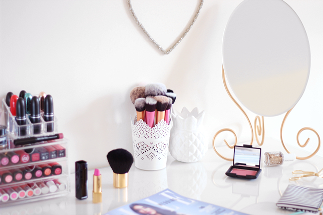 Malm dressing table update sophie s makeup