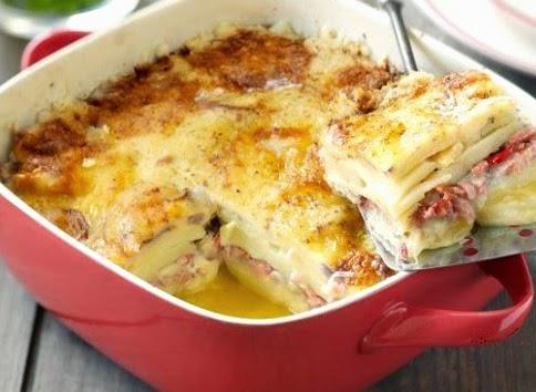 Картофельная запеканка с рыбой в духовке рецепты