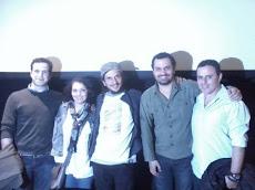 Com o Cineasta João Amorim e sua Equipe no Lançamento do filme 2012 Time For Change 2011