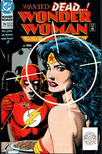 Wonder Woman 78 Flash Bolland