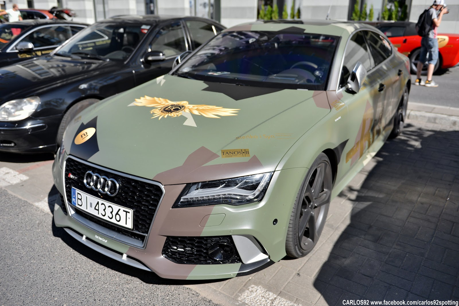 Audi W Pl Audi Rs7 Camo