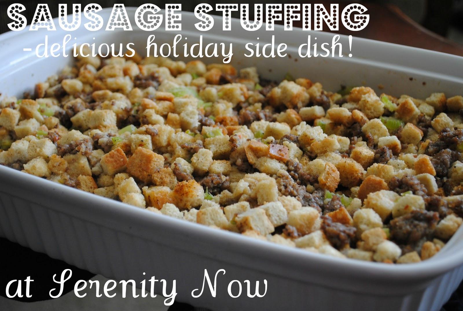 Sausage+Stuffing+Sausage+Dressing+Holiday+Side+Dish+Recipe+Serenity ...