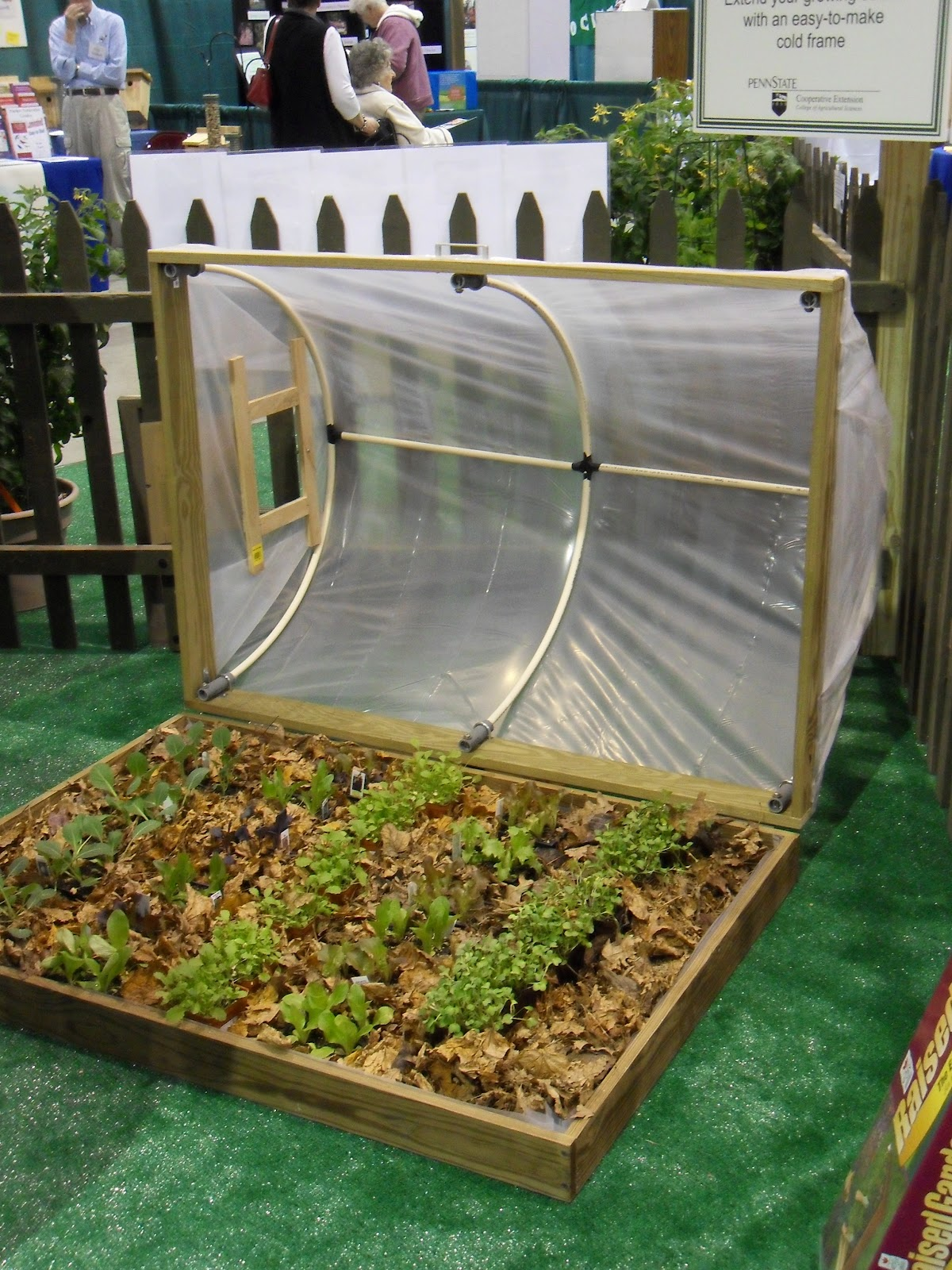 Danger Garden: Minigreenhouses Or Raised Beds? Both!  This Is So Cool!  Raised Bed, Minigreenhouse That Slides Open! How Awesome Is That!!